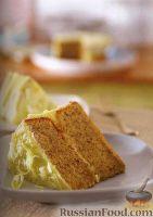 Фото к рецепту: Ореховый торт с белым шоколадом