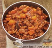 Фото к рецепту: Мясной соус к пасте