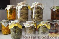 """Фото к рецепту: Баклажаны """"как грибы"""" (с чесноком) на зиму"""