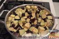 """Фото приготовления рецепта: Баклажаны """"как грибы"""" (с чесноком) на зиму - шаг №2"""