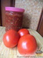 Фото к рецепту: Кетчуп на скорую руку