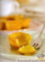 Фото к рецепту: Песочные тарталетки с лимонным кремом