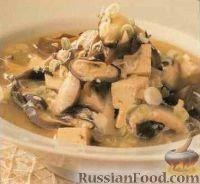 Фото к рецепту: Тайский грибной суп
