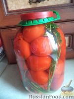 Фото к рецепту: Квашеные помидоры
