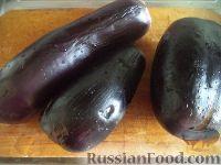 """Фото приготовления рецепта: Баклажаны - """"грибочки"""" - шаг №2"""