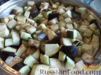 """Фото приготовления рецепта: Баклажаны - """"грибочки"""" - шаг №6"""