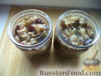 """Фото приготовления рецепта: Баклажаны - """"грибочки"""" - шаг №10"""