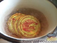 """Фото приготовления рецепта: Баклажаны - """"грибочки"""" - шаг №11"""