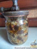 """Фото приготовления рецепта: Баклажаны - """"грибочки"""" - шаг №12"""