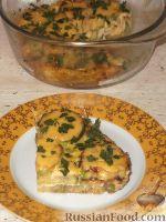 Фото к рецепту: Запеканка из кабачков, яиц и сыра