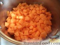 Фото приготовления рецепта: Пшенная каша с тыквой на воде - шаг №4