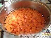 Фото приготовления рецепта: Пшенная каша с тыквой на воде - шаг №5