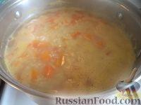 Фото приготовления рецепта: Пшенная каша с тыквой на воде - шаг №7