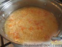 Фото приготовления рецепта: Пшенная каша с тыквой на воде - шаг №9