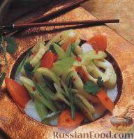 Фото к рецепту: Тайское овощное рагу