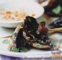 Фото к рецепту: Грибы, жаренные на гриле