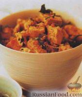 """Фото к рецепту: Маринованный сыр тофу, жаренный """"стир-фрай"""""""