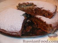 Фото к рецепту: Пирог на кефире с вареньем