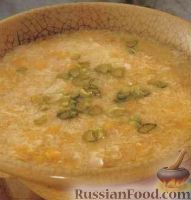 Фото к рецепту: Кукурузный суп