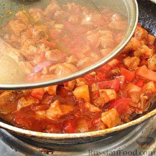 Подлива из свинины без томатной пасты рецепт с пошагово