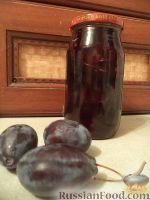 Фото к рецепту: Сливовое варенье половинками