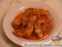 Фото к рецепту: Щука под луково-чесночным соусом