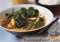 Фото к рецепту: Тайский суп-карри