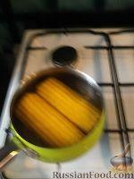 Фото к рецепту: Кукуруза