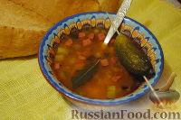 Фото к рецепту: Солянка на скорую руку