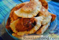 Фото к рецепту: Чебуреки на кефире