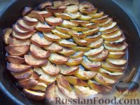 Фото к рецепту: Яблоки с карамелью