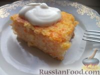 Фото к рецепту: Запеканка из риса и тыквы