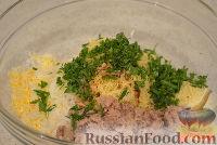 Фото приготовления рецепта: Закусочные шарики с печенью трески - шаг №2