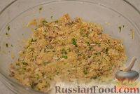 Фото приготовления рецепта: Закусочные шарики с печенью трески - шаг №3