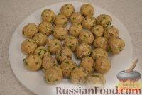 Фото приготовления рецепта: Закусочные шарики с печенью трески - шаг №5