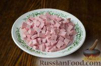 Фото приготовления рецепта: Салат с сухариками - шаг №2