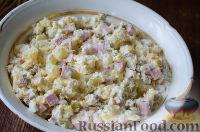 Фото приготовления рецепта: Салат с сухариками - шаг №6