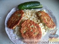 Фото к рецепту: Оладьи куриные с картофелем и зеленью