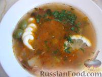 Фото к рецепту: Сборная солянка мясная с картошкой
