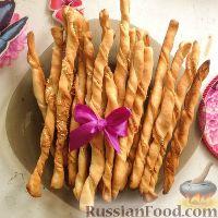 """Фото к рецепту: Итальянские хлебные палочки """"Гриссини"""""""