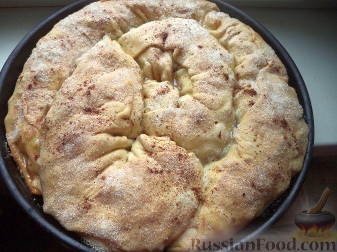 Как приготовить яблочный штрудель дома