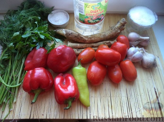 Фото приготовления рецепта: Аджика (3) - шаг №1