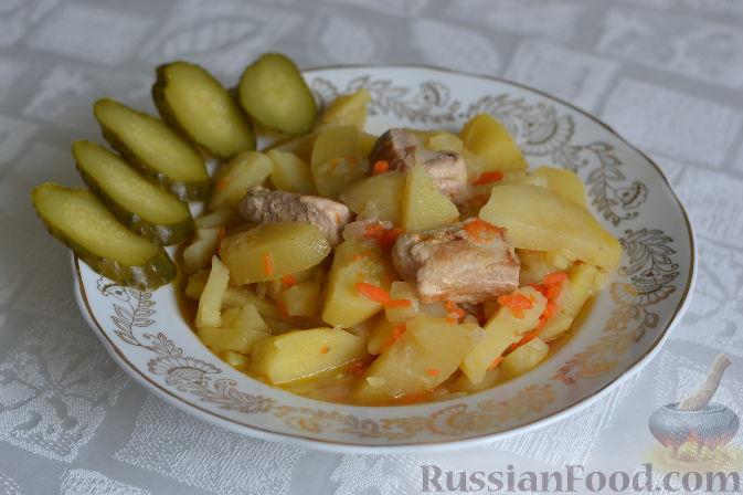 Фото приготовления рецепта: Творожно-сметанный десерт с апельсином и кукурузными хлопьями - шаг №14