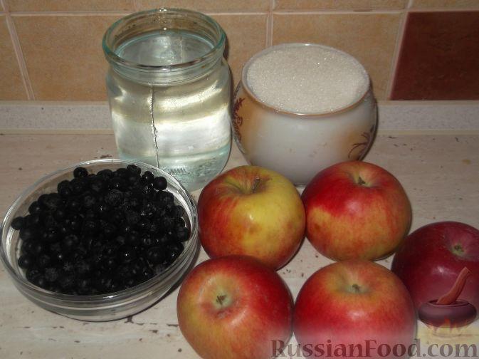 Фото приготовления рецепта: Компот из яблок и черноплодной рябины - шаг №1