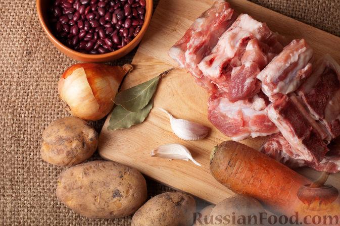 простой фасолевый суп рецепт с фото