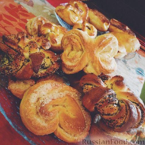 булочки домашние сладкие рецепт с фот на маонезе