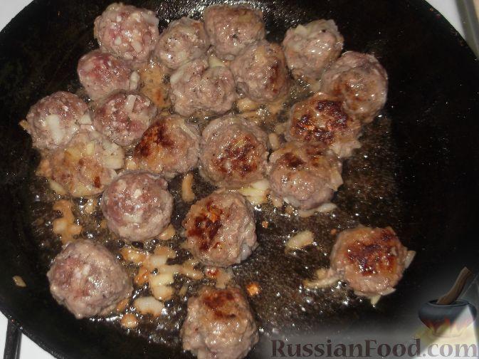 картофель тушеный с фрикадельками рецепт с фото
