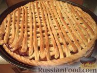 Фото к рецепту: Пирог со сливами