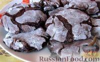 Фото к рецепту: Шоколадное печенье без муки