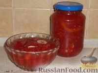 Фото к рецепту: Лечо (помидорное)
